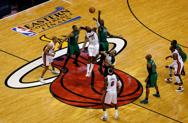 Boston Celtics v Miami Heat - Game One