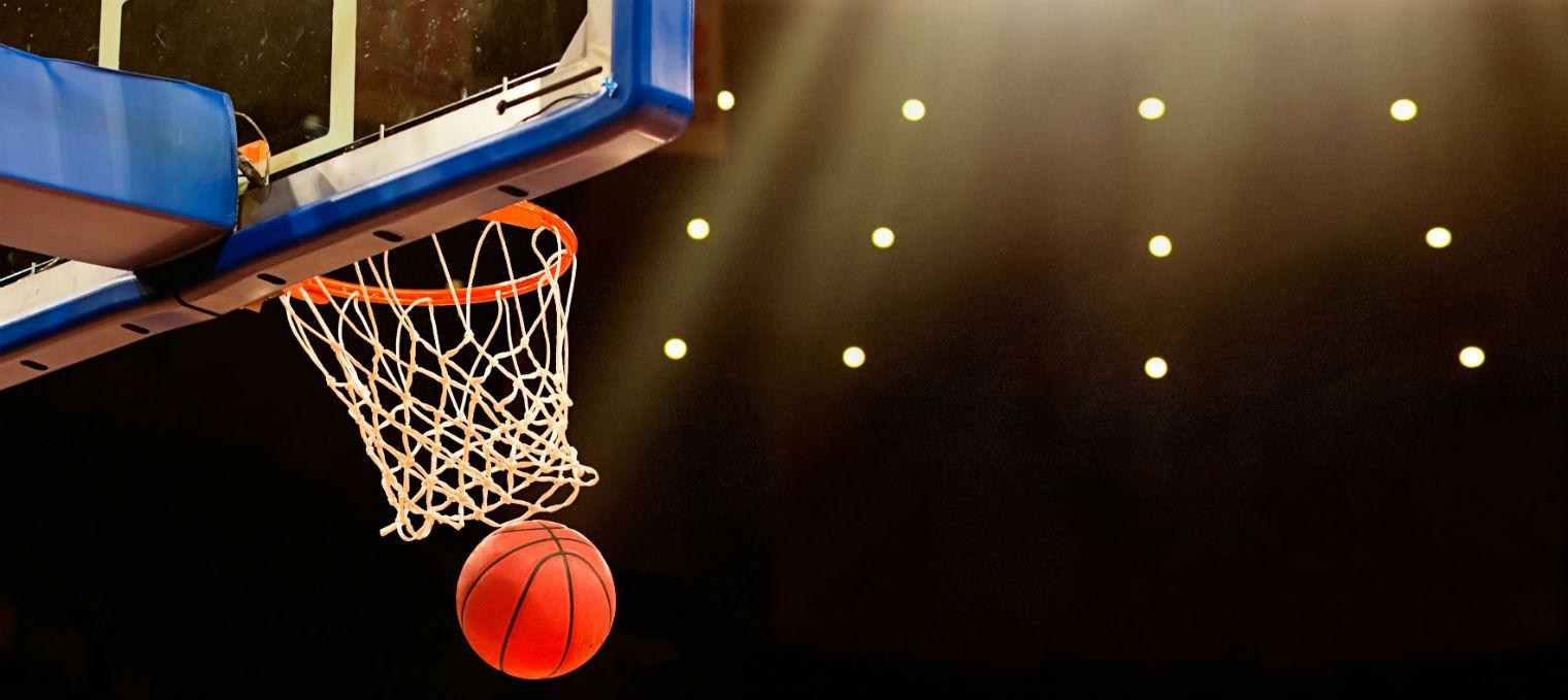basquete cesta